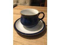 Denby Imperial Blue 6 Piece Tea Set