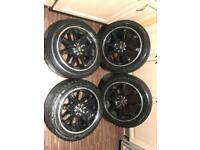 "15"" Wolfrace Alloy Wheels 4x100 & 4x108"