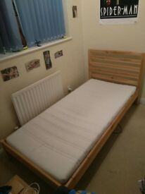 Single bed+mattress from IKEA