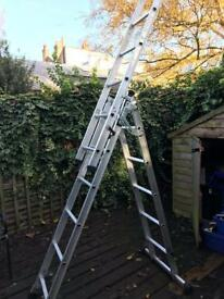 Abru 4 Way Professional 3 Section Combination Ladder