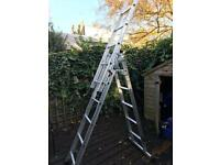 Abru 4 Way Professional 3 Section Combination Ladder