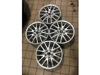 "Volkswagen MK5 Golf GT sport GT TDI alloy wheels 17"" 5x112 7J ET54 A3 Leon"