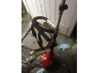 petrol strimmer like new Homelite model HBC26SJS £60.00