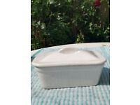 Retro Ceramic Butter Dish