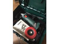 Metabo Grinder with battery unit