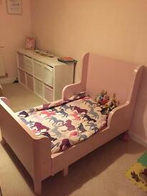 Children's extending bed - toddler to 8 years.
