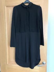 Black Topshop shirt dress