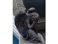 Gorgeous angel garden statue