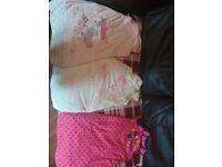 3x baby girl sleeping bags.