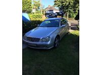 Mercedes clk cdi 270 left hand drive in very good condition