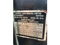 Mower engine Suffolk Type 75G14-25A plus other parts