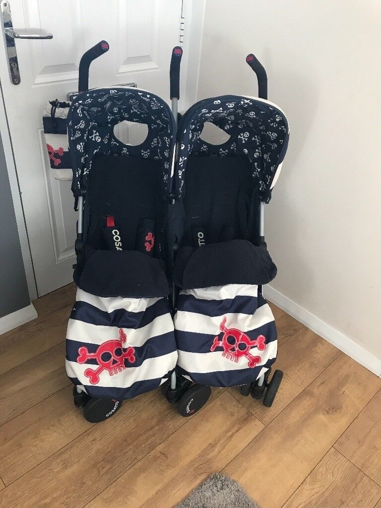 Cosatto ahoy there double pushchair