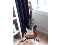 Left Handed Japanese Sunburst 57 Reissue Stratocaster