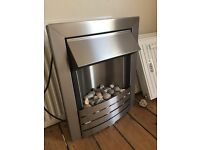 Adam inset electric fire nearly new
