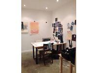 Artist studio to rent in Peckham!