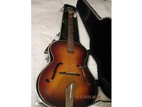 Hofner acoustice guitar circa 1950's