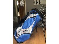 Starter set golf clubs.