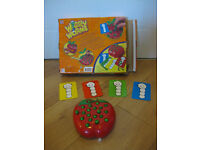WIGGLY WORMS GAME - IMMACULATE CONDITION - £35 on Ebay / £13 on Amazon for used game
