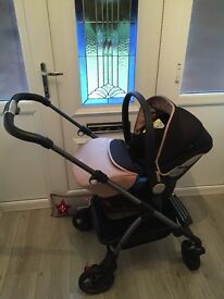 Silver Cross 2 months old - only car seat and wheels have been used