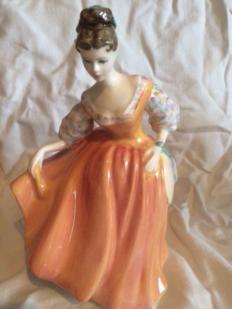 Royal Doulton Fair Ladyin Forfar, AngusGumtree - Royal Doulton fair Lady bone China figurine, beautiful condition. Serial no HN2835.beautiful condition