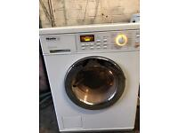Miele washer dryer 6kg white mint condition 1600spin