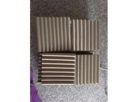 "24 x Acoustic Foam (12"" per piece)"