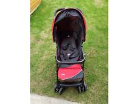 Baby pushchair and carseat travel system