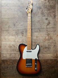 Fender Standard Telecaster made in Mexico 1996 3 tone sunburst