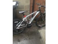 **Saracen 2014 mountain bike** suspension, 7 gears, smooth and reliable!