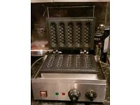 Belgian Lolly waffle machine for wedding/events business