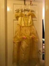 Disney's Princess Belle Dress with matching shoes 7-8