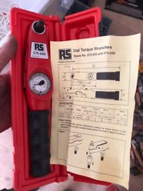 RS Components Tirque Wrench, brand new never used.