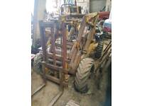 Sambron AM10 forklift for spares or repair.