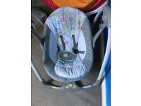 Baby swing 5speeds great condition