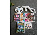 Wii games with accessories