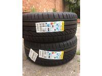 2 X DUNLOP Tyres 245/40 R18 93Y run flat - BARGAIN!!! half RRP