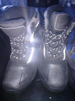 Boys boots size 6 and 8