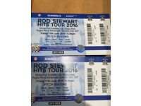 Rod Stewart tickets for sale x2