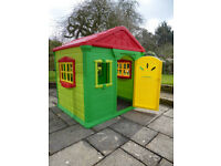 Children's Colourful Strong Plastic Playhouse