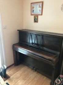 Iron framed upright Piano - Free