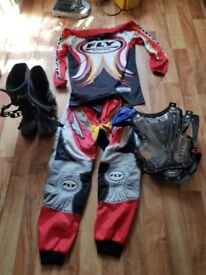Motor cross clothing