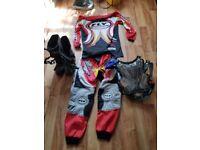 Motor cross clothing