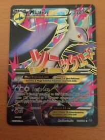 Mega Latios EX Full Art Mint Condition/Like New XY Roaring Skies 102/108
