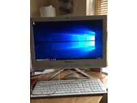 "Lenovo C40-30 All in One Desktop PC 21.5"" LED White 1tb HDD 6gb"