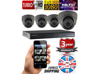 4x HIKVISION CCTV KIT 1080P FULL HD + 2.4 MP CAMERA + 1TB HDD + 3 Years UK Warranty -XMAS OFFER