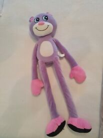 Stretchkins Pink & Purple Bear