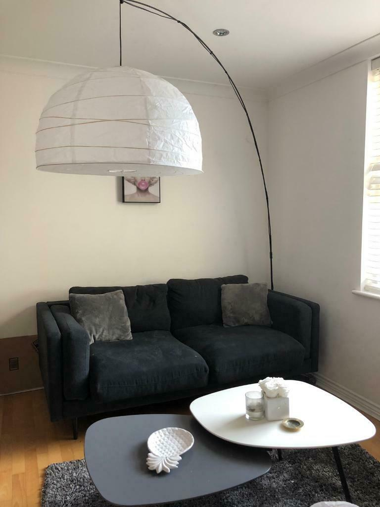 Ikea Large Arched Floor Lamp In Tower