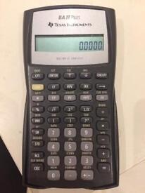 BA II calculator