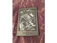 Kindle with case