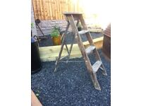 Vintage Wooden Step Ladders Shabby Chic Project /Wedding Venue Decoration